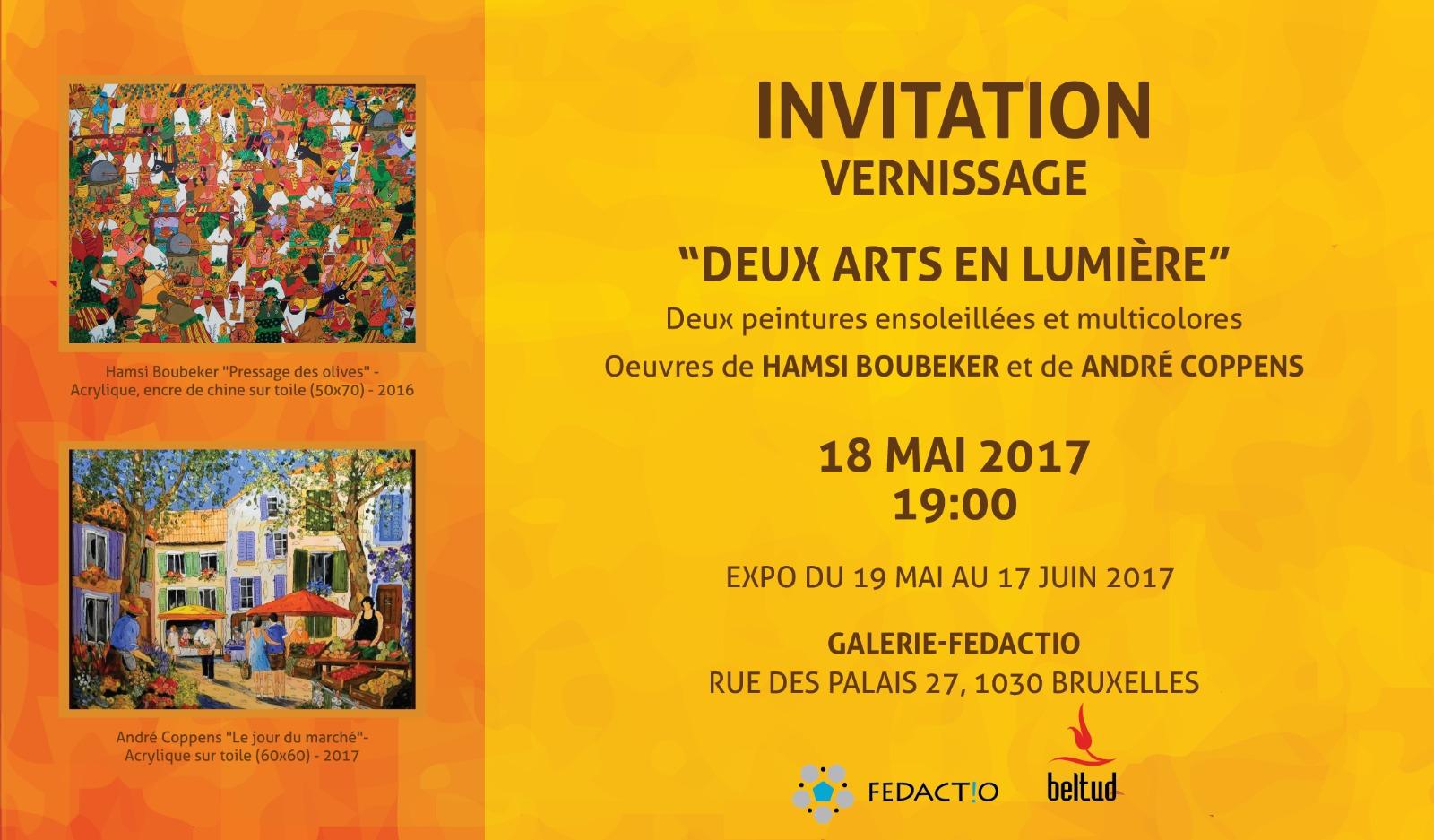 Expo Galerie Fedactio 2017 Hamsi